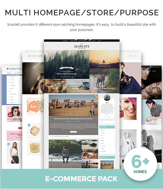 Multi Homepage