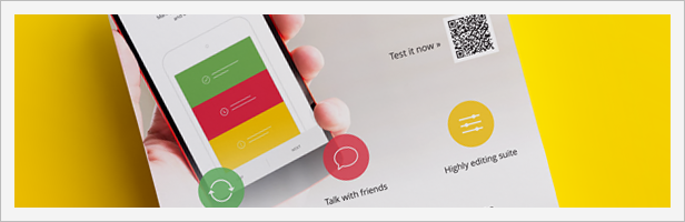 Mobile Application Promotion Flyers / Phone App 6