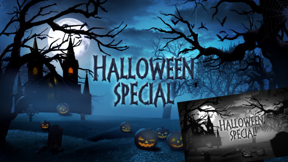 Halloween Special Promo - Apple Motion - 1