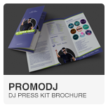 PromoDJ - DJ Press Kit template