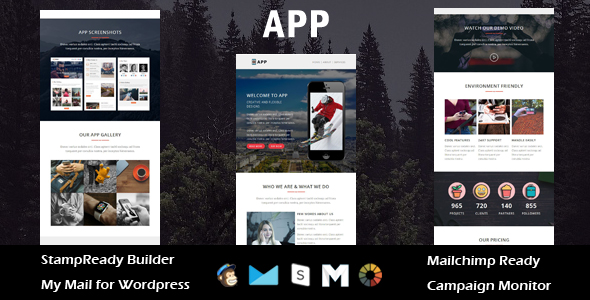 Pixo - Multipurpose Responsive Email Template With Online StampReady Builder Access - 3