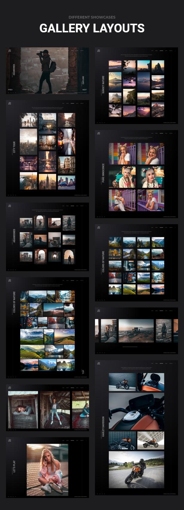 Ashade v4.0-摄影WordPress主题插图12