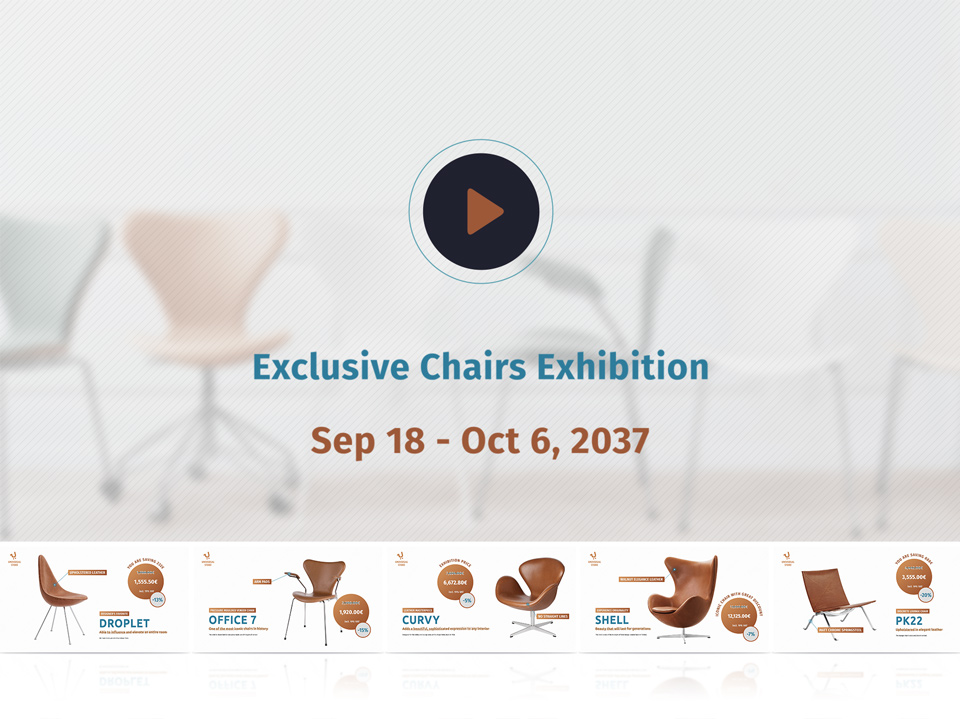 Chairs Exhibition Example - Universal Store