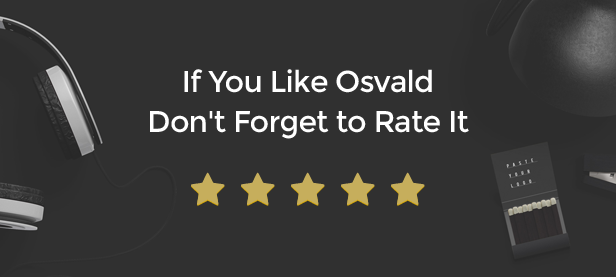 If You Like Osvald Don't Forget to Rate It