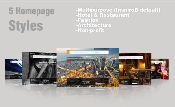 Inspiro B - Responsive HTML5 Template - 7