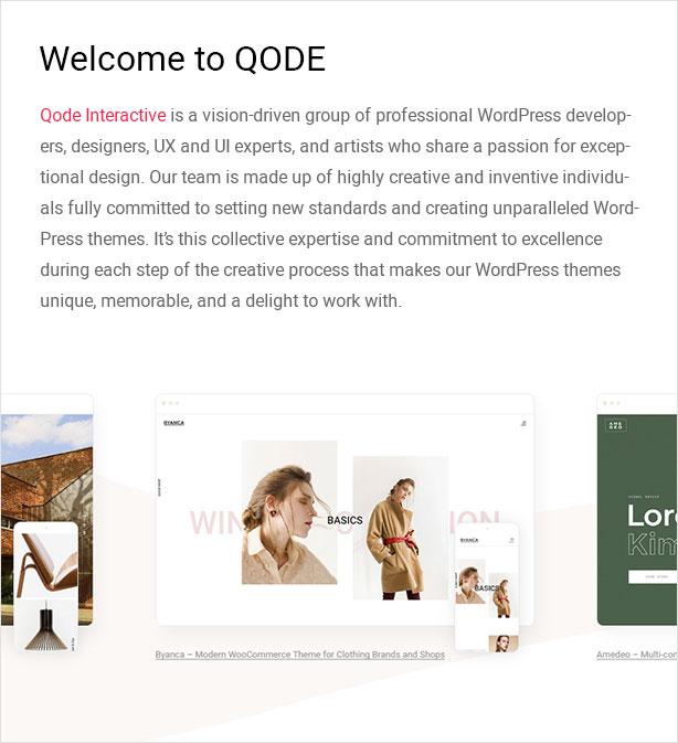 Qode themes