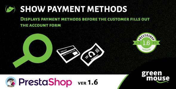 Module Show Payment Method for PrestaShop