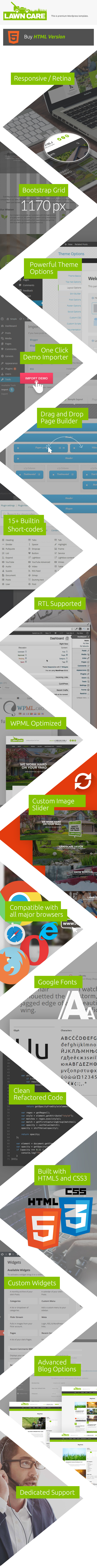 Lawn Care services - HTML template