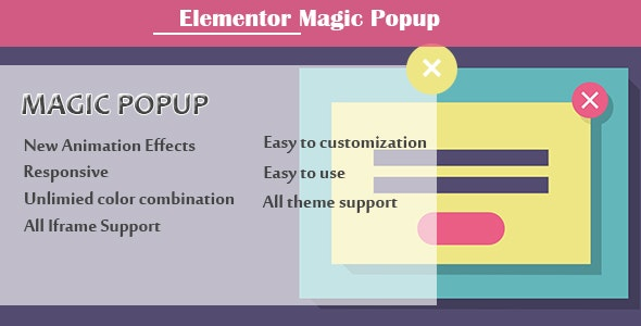 Elementor - Magic Popup - CodeCanyon Item for Sale