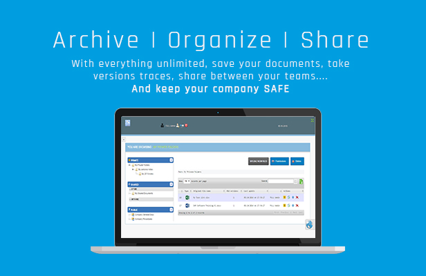 Archive, organize, save