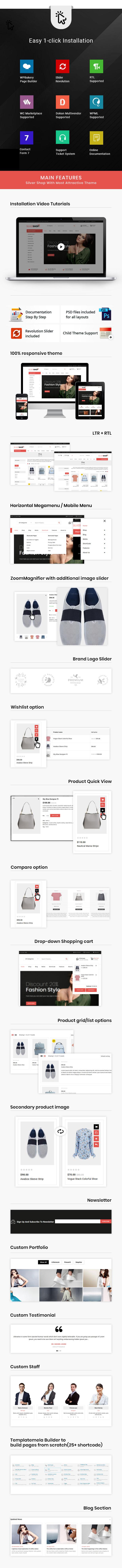 Silver Shop - Multipurpose WooCommerce Theme 2