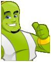 Genie Mascot