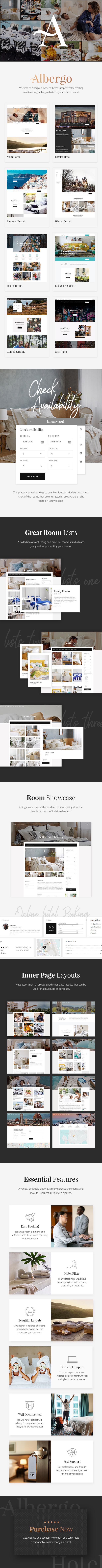 Albergo - Hotel and Accommodation Booking Theme - 1