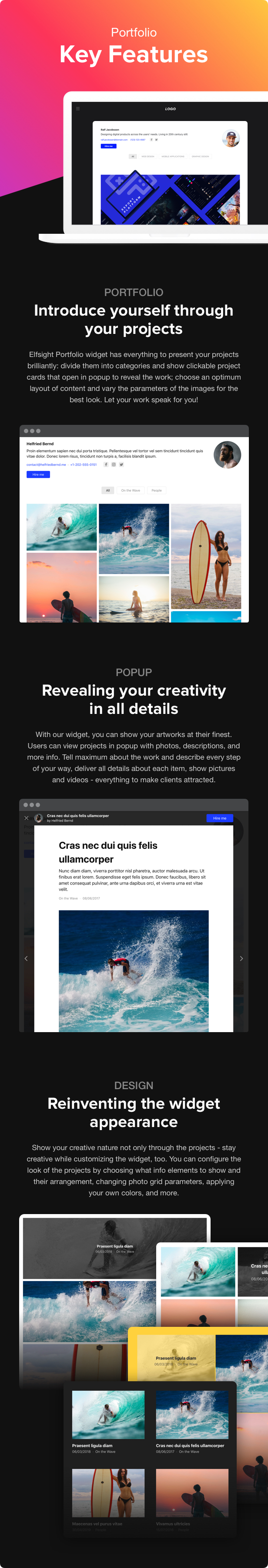 Portfolio Gallery - WordPress Portfolio Plugin - 1