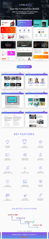 UpBeat - Responsive Multi-Purpose Landing Page - 3