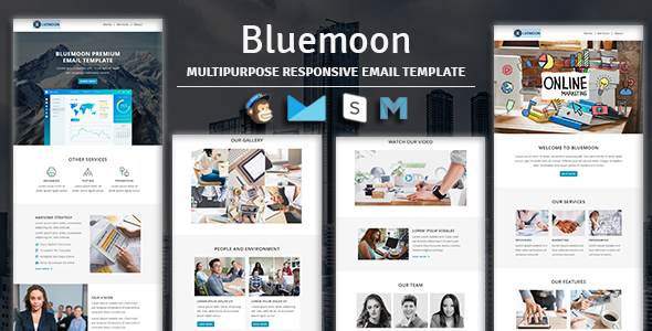 Digit - Multipurpose Responsive Email Template With Stampready Builder & Mailchimp Access - 2