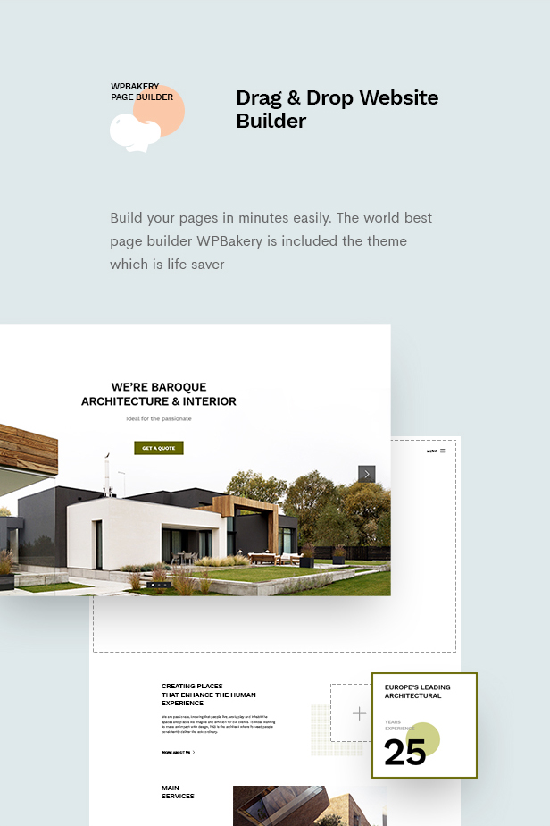 Baroque - Architecture & Interior WordPress Theme - 9