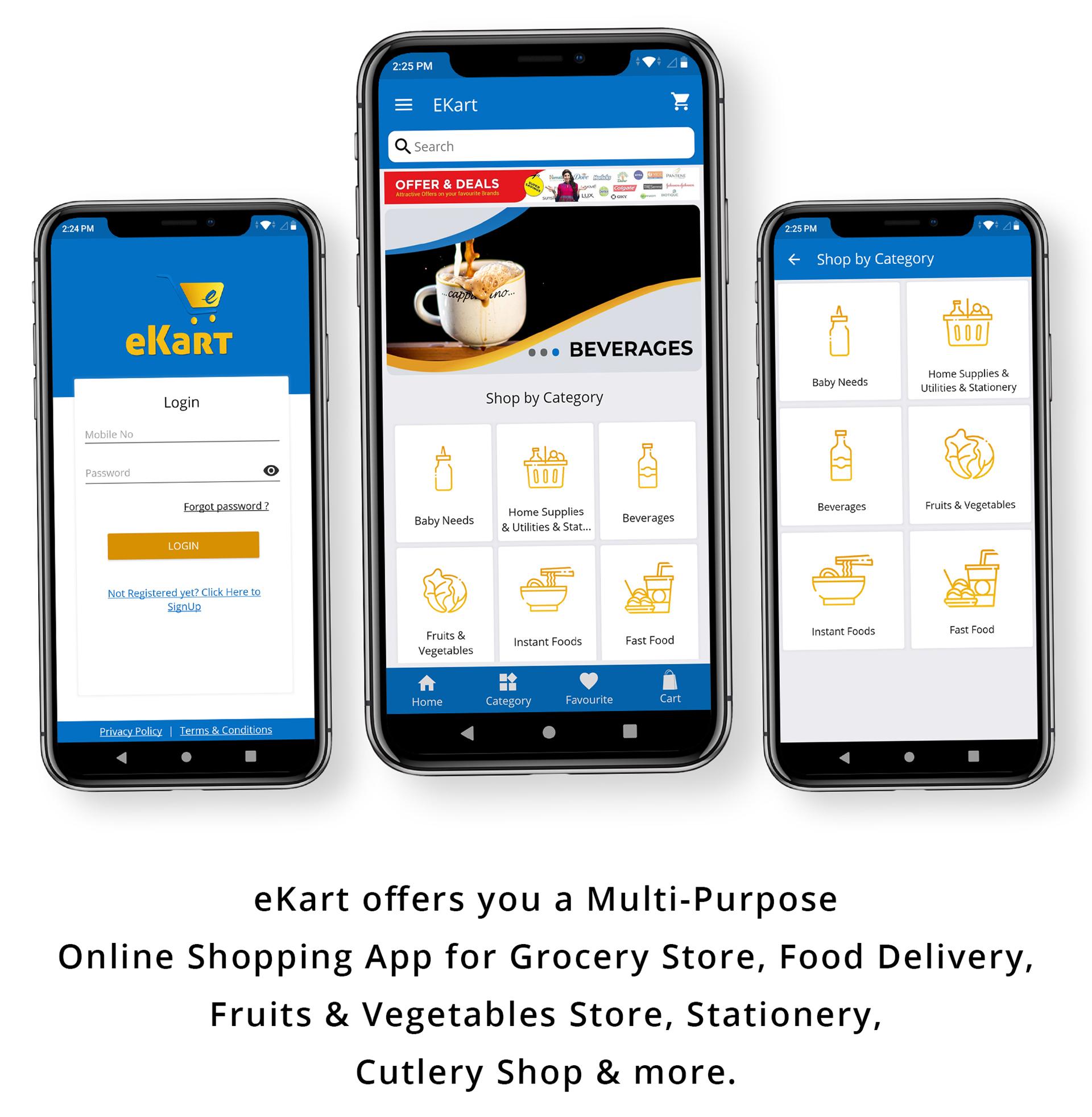 eKart - Android e-commerce app - 6