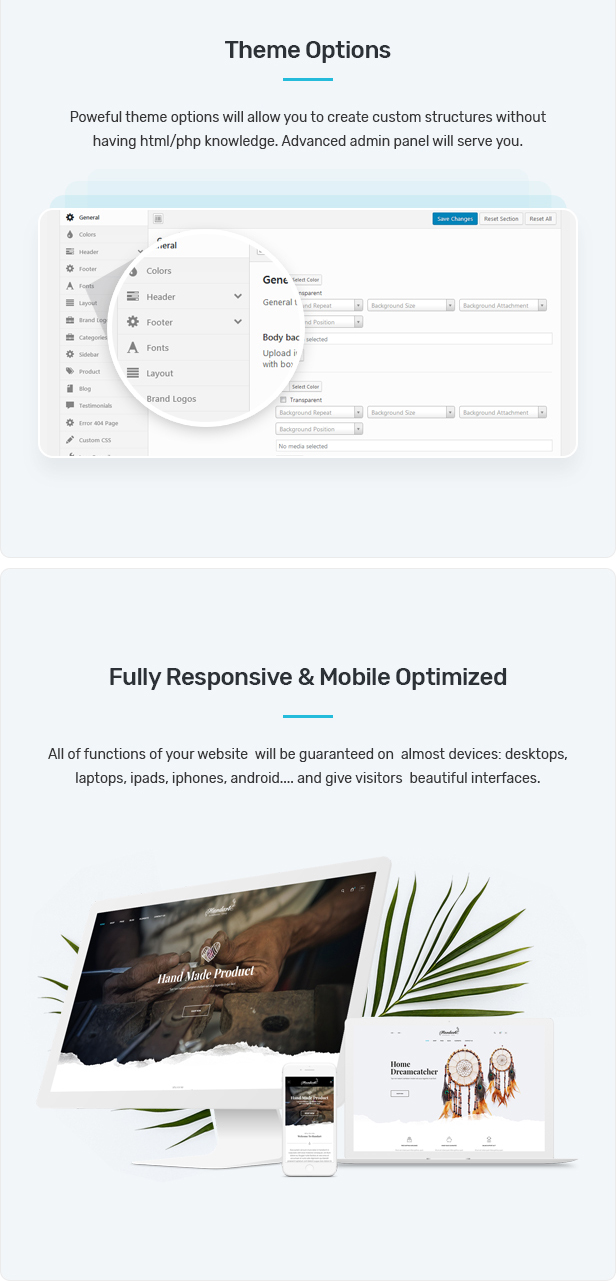 Handart - Handmade Theme for WooCommerce WordPress 23