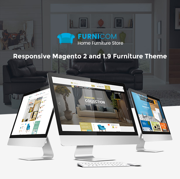 Responsive Magento 2.0 Theme - Homepage