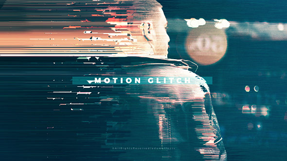 Fast Motion Glitch Slideshow - 4