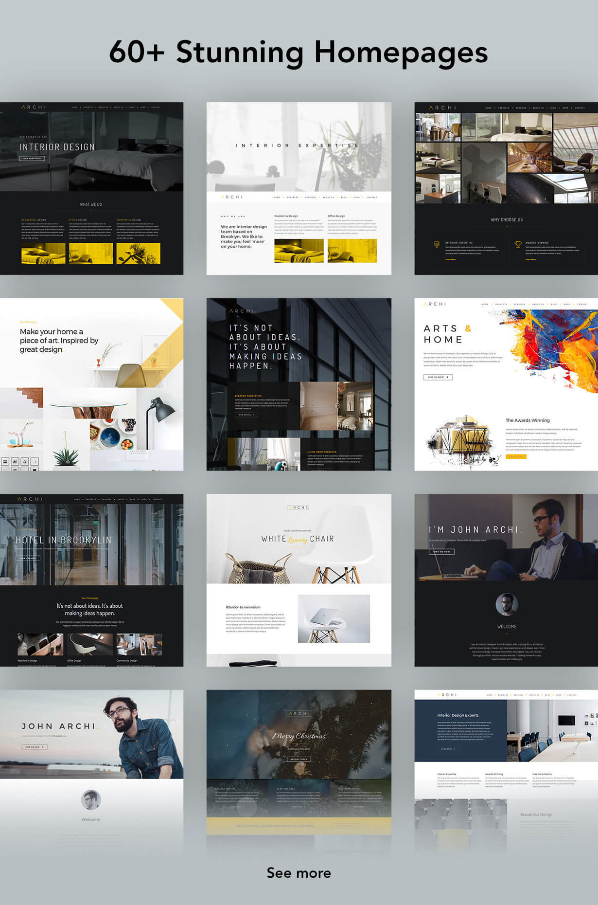 Archi - Interior Design WordPress Theme - 8