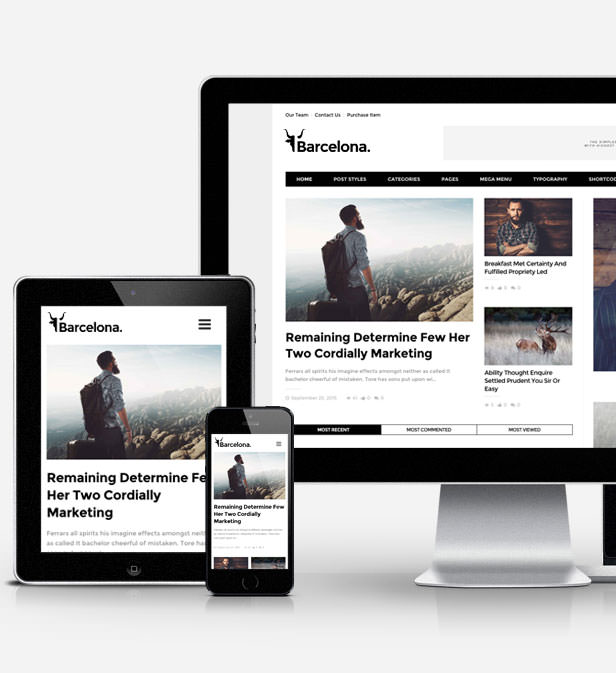 Barcelona. - Clean News & Magazine WordPress Theme - 3