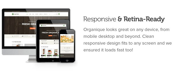 Responsive and Retina-Ready
