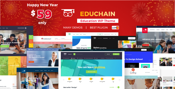 EduChain - Education & LMS WordPress - Education WordPress