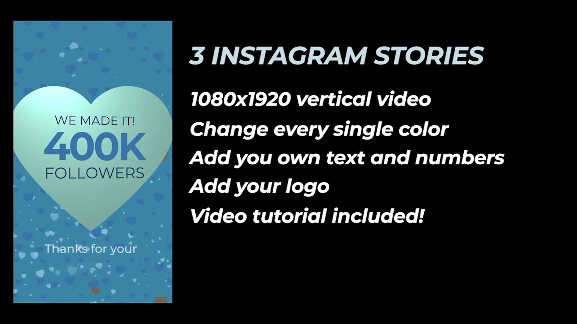 400K Followers Stories - 3