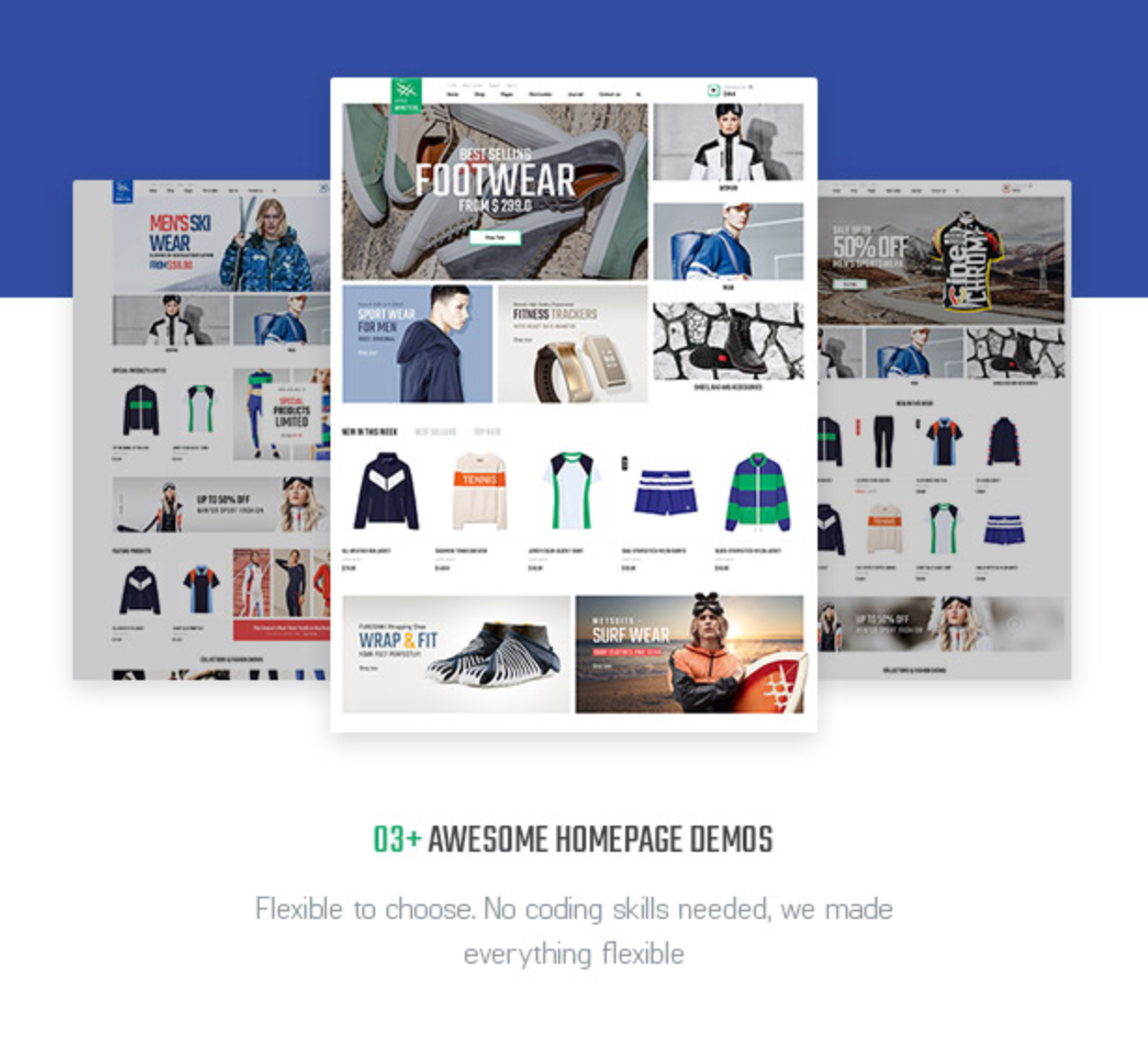 Littlemonsters Sport Shop Woocommerce WordPress Themes
