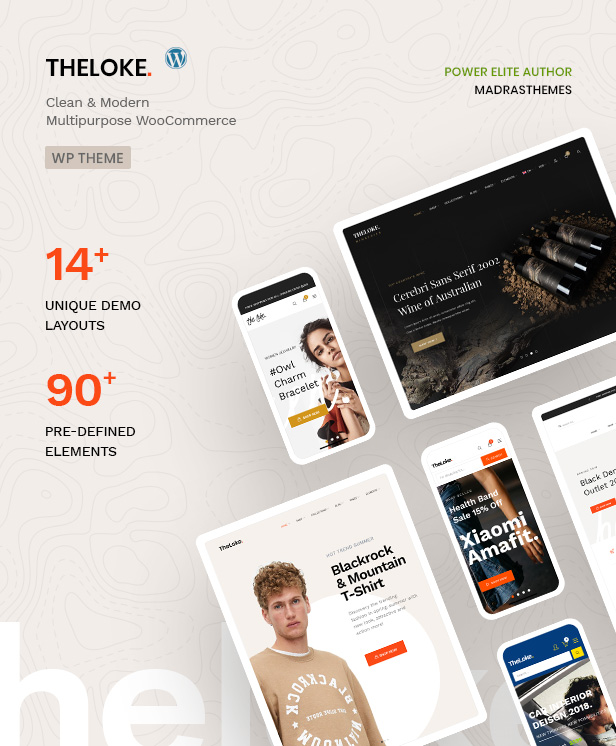 TheLoke - Multi-Purpose & Electronics Store WooCommerce Theme - 1