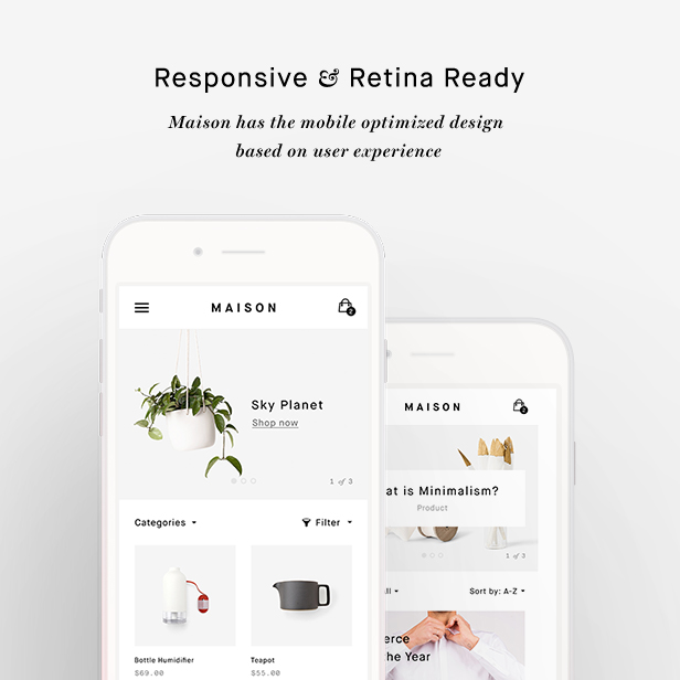 Interior Design Shopify Theme - Maison