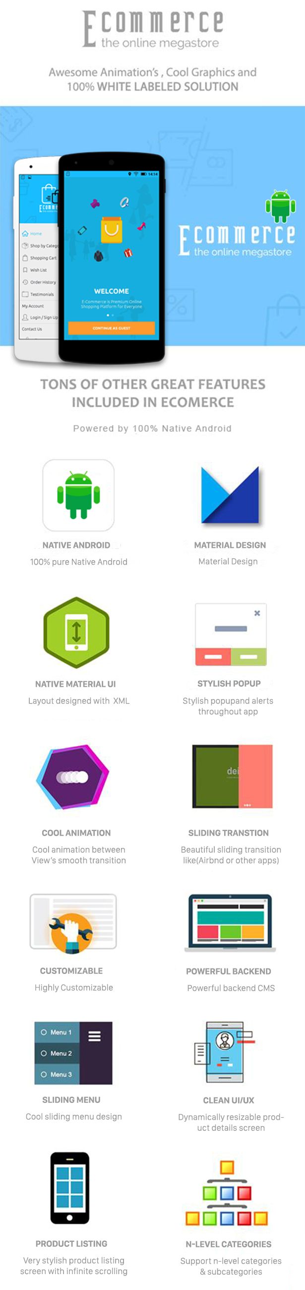 E-Commerce Android Native App with Powerful Cloud Backend - 6