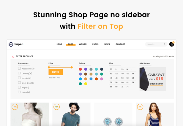 Xuper WordPress Theme