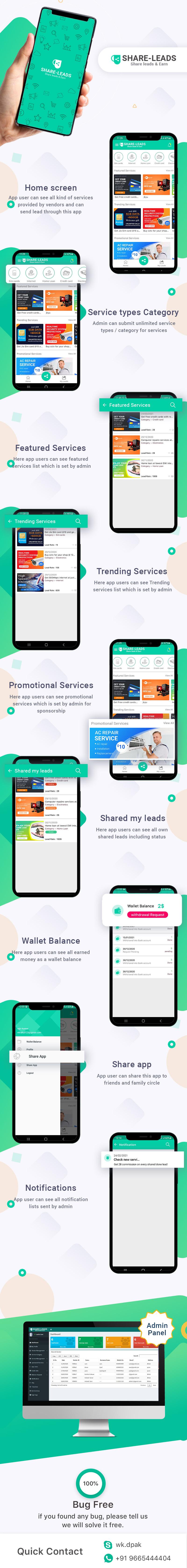 Share Leads & Earn - 2