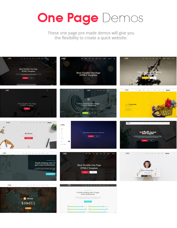 Synx - One Page Parallax - 4