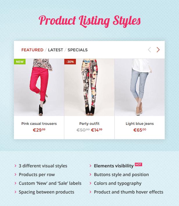 Shoppica – Premium OpenCart Theme - 9