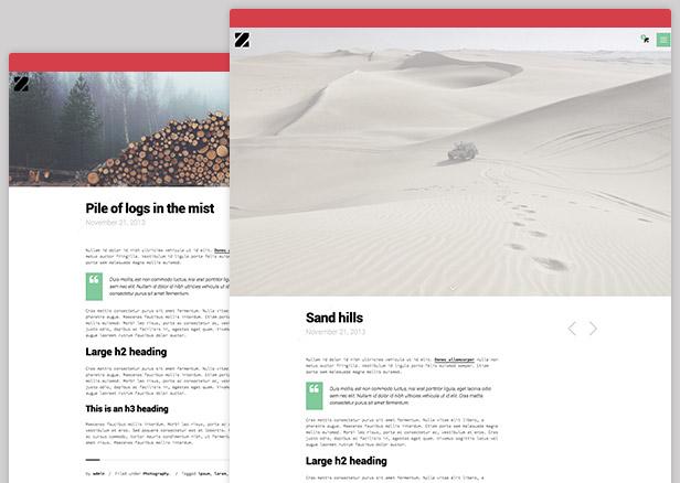 Zancudo - Mighty fullscreen theme for creatives - 7