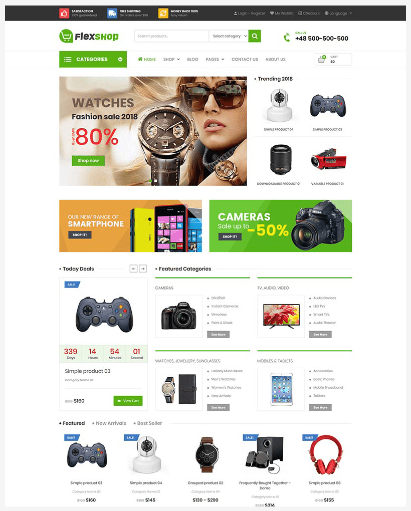 VG Flexshop - Multipurpose Responsive WooCommerce Theme - 6