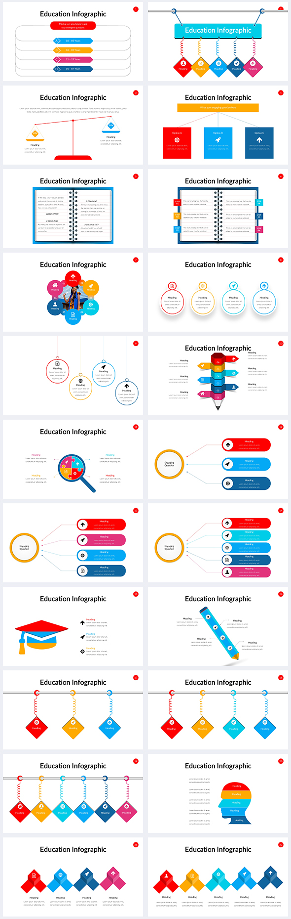 Education-Infographic-Power-Point-Template