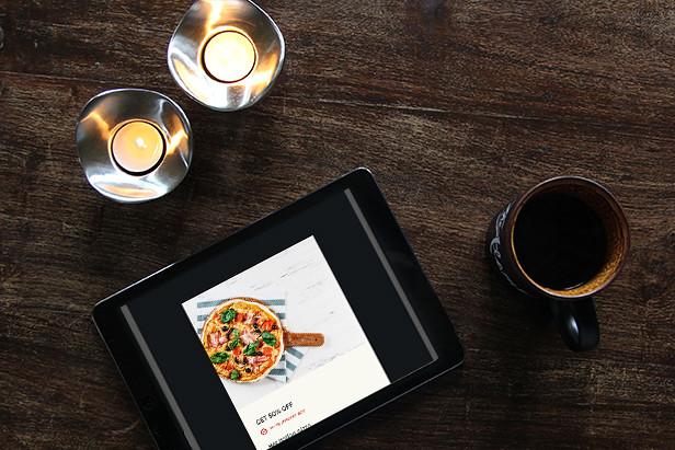 Evory - Responsive Restaurant Adobe Muse Template - 9
