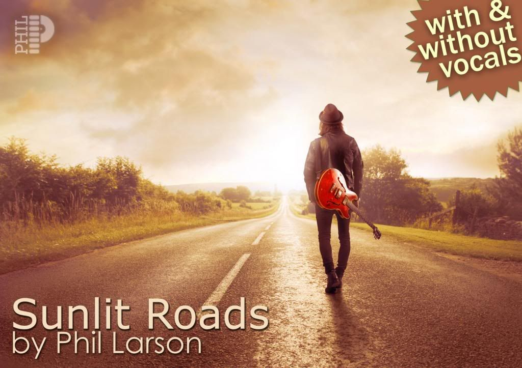 Sunlit Roads by Phil Larson