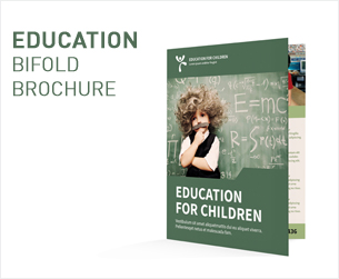 Education Bifold / Halffold Brochure - 2