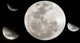 Crescent Moon At Dawn II - Full HD - 1