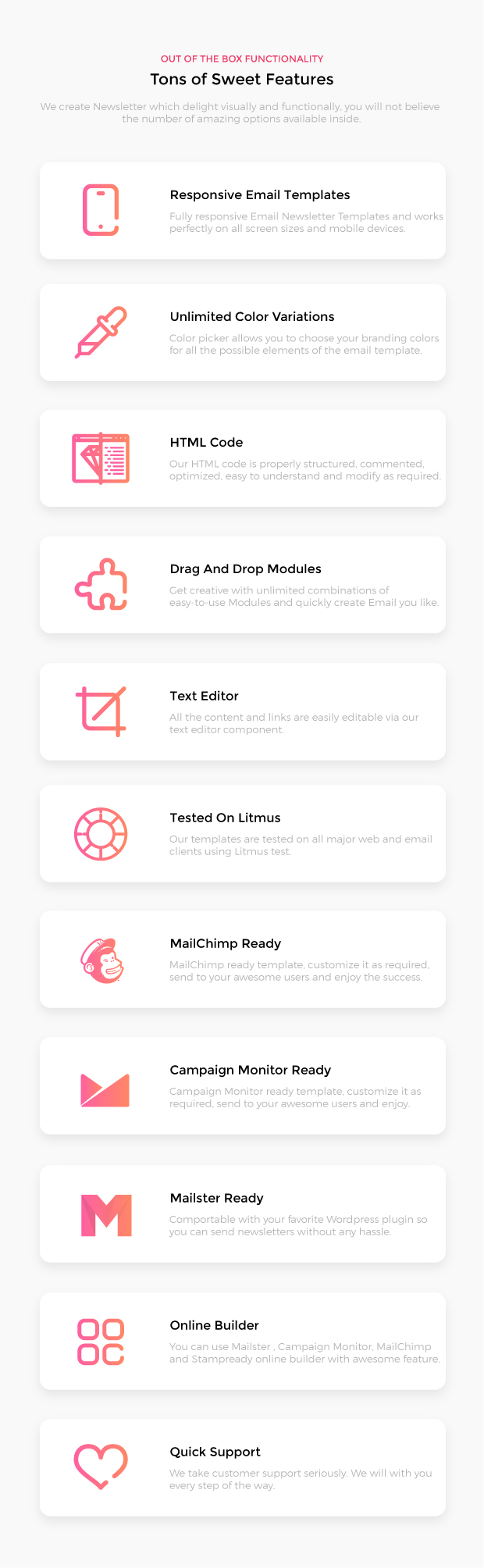 Market Agency Multipurpose Responsive Email Template For Agency