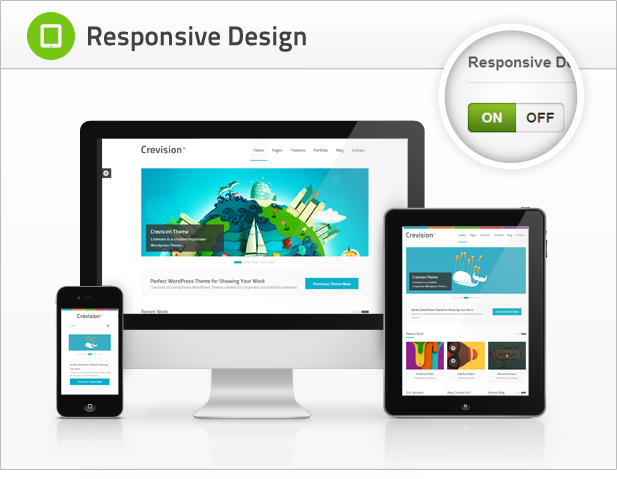 Crevision - Responsive WordPress Theme - 4