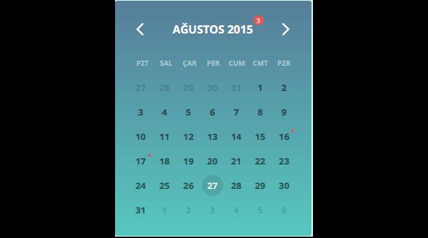 Jalendar 2 Calendar Kit [Events, Range Selecting and More...] - 1