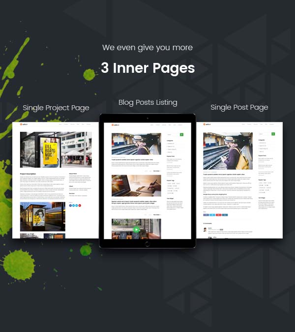 UniSet - Landing Page WordPress Theme by Jthemes | ThemeForest