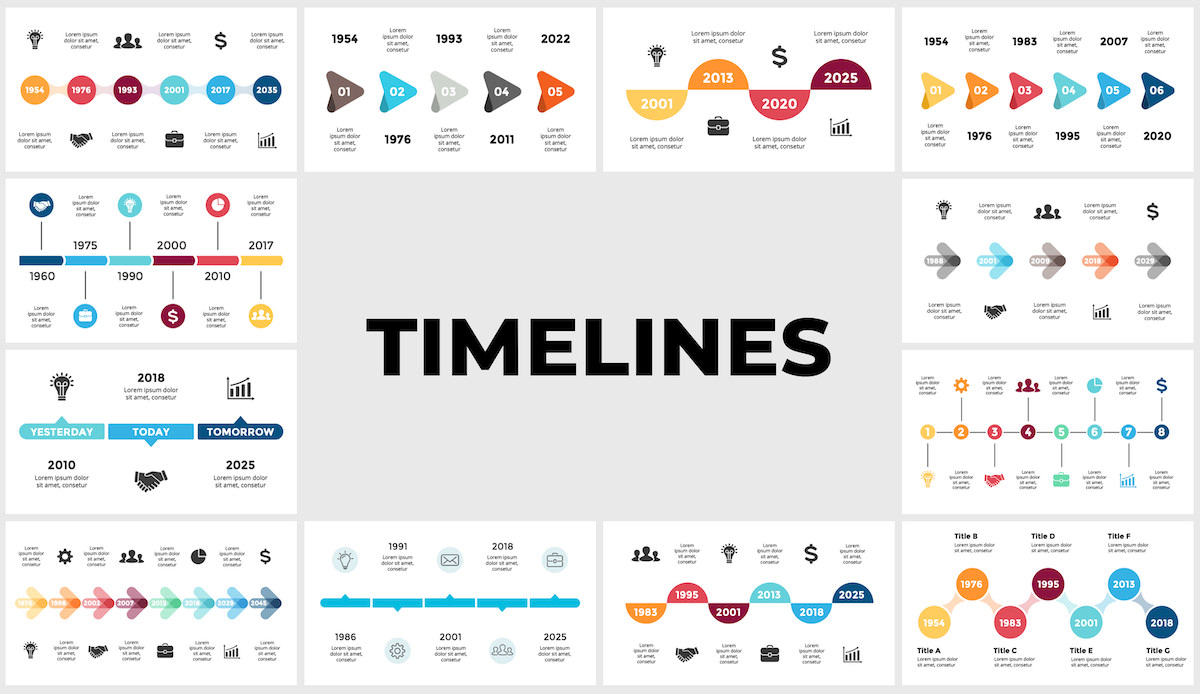 Huge Infographics Bundle! Lifetime Updates! PowerPoint, Photoshop, Illustrator. - 226